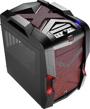 Aerocool Strike-x Cube Cubo Nero Rosso vane portacomputer 4713105952780