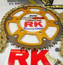 '97-98 Honda CBR600 F3 RK GXW Gold 525 -1/OEM SuperSprox Chain and Sprocket Kit