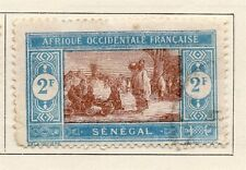 Senegal 1922 Early Issue Fine Used 2F. 008069