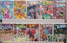The Uncanny X-Men #214, 215, 220, 224, 225, 226, 227, 230, 231, 232 - CGC READY
