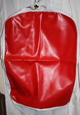 """New Libertyville Red & White Hanging Horse Harness Vinyl Storage Bag - 25"""" x 35"""""""