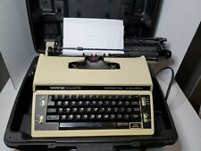 Vintage Portable Manual Brother Cassette Typewriter & Case Made in Japan XL20