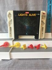 Vintage 1990 Lights Alive By Playskool Works Complete New LED Bulb Very Bright