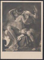 GER 33640) Kunst AK HDK Nr. 444 Karl Truppe Baccus und  Akt Frauen Nacktportrait