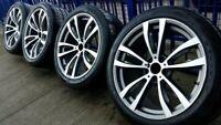 20 Zoll Kompletträder für BMW X5 E70 F15 X6 F16 Sommerreifen + RDKs Sensor