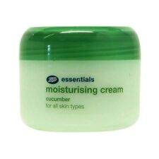 BOOTS ESSENTIALS CUCUMBER MOISTURISING CREAM 100ML DAY & NIGHT ANTIOXIDANTS