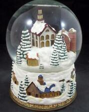 Johnson Brothers FRIENDLY VILLAGE COLLECTIBLES Snow Globe GREAT CONDITION
