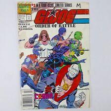 G.I. Joe Order of Battle #3, Marvel 1987 copper age comic