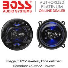 "Boss Audio BE524-Rage 5.25"" 4-Way FULL RANGE AUTO ALTOPARLANTE COASSIALE 225W Power"
