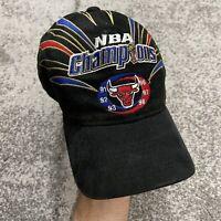 Vintage Starter Chicago Bulls 98 NBA Finals Champions Jordan Locker Room Hat