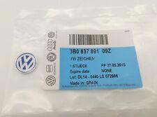 Genuine 14mm Vw Key Fob Badge Emblem 1x Replace Passat Jetta Golf Beetle Tiguan