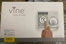 Vine Wi-Fi Programmable Smart Thermostat 2nd Gen Alexa & Google Compatible