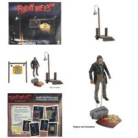 CAMP CRYSTAL LAKE Accessory Set NECA Friday The 13th JASON VOORHEES NOT INCLUDED