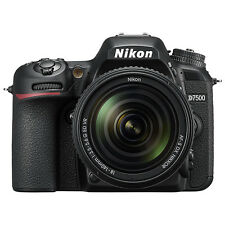 Nikon D7500 Digital SLR Camera 20.9 MP with 18-140mm VR AF-S DX Zoom Lens