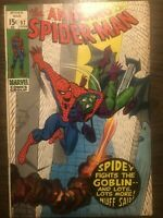 Amazing Spider-man #97, FN/VF 7.0, No Comics Code, Drug Issue, Green Goblin