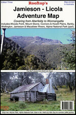 ROOFTOP'S JAMIESON - LICOLA MAP 4WD - MOTOR BIKE- CAMPING -TRAILS - BUSHWALKING