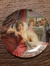 "Edwin Knowles ""Annie and Miss Hannigan� 6th - The Annie Collector's Plate Series"