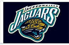 3 x 5 ft. NFL Jacksonville Jaguars Flag, Printed with Heading and D-rings