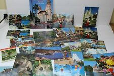 Vintage California Paper Souvenir Items - Brochures Booklets Postcards