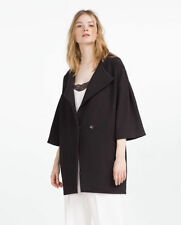 Zara Polyester Machine Washable Coats & Jackets for Women