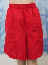 SPEEDO Men's red Rally Solid Volley swim board Shorts, 2XL - ZIPPER DAMAGED