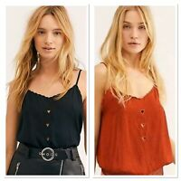 Free People Place For You Bodysuit BNWT's  XS-Large Western Rust or Black $58.00