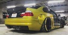 BMW E46 M3 COUPE PANDEM STYLE WIDE FENDERS ARCHES 6PCS + SPOILER CSL STYLE