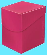 ULTRA PRO Deck Box ECLIPSE PRO-100+ HOT PINK with DIVIDER card storage case mtg