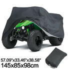 Black ATV Cover Quad Bike Waterproof Dust UV Storage For Polaris Honda Yamaha