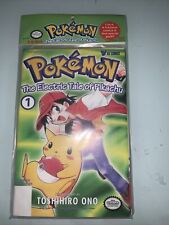 NEW! Pokemon - The Electric Tale of Pikachu Comic Book Vol 1-4 AUG 1999