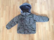 Boys Next Khaki Puffa/Paded Jacket With Removable Hood Option-Age 3 Years,V Warm