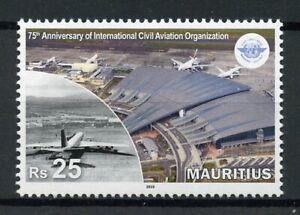 Mauritius Aviation Stamps 2019 MNH ICAO Intl Civil Aviation Organization 1v Set