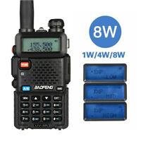 Baofeng UV-5R 8W High Powerful Two Way Radio Walkie Talkie 8 Watts CB Ham Radio