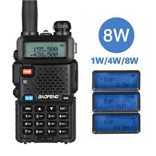 Baofeng UV-5R 8W High Powerful Two Way Radio Walkie Talkie 8 Watts CB Ham Radio