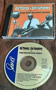 KID THOMAS & EARL HUMPHREYS ORANGE KELLINS NEW ORLEANS JOYMAKERS  CD JAZZ