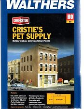 HO Scale Walthers Cornerstone 933-3463 Cristie's Pet Supply Building Kit