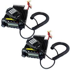 2Xretevis Scrambler Rt-9000D Vhf 66-88Mhz Mobile Car Ham Radio 200Ch 50Ctcss 60W