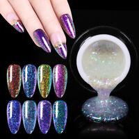 BORN PRETTY 5ml Soak Off UV Gel Nail Polish Chameleon Glitter Nail Art Varnish