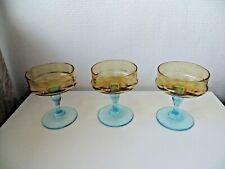 Legras, Portieux - George Sand .3 Verres /coupes à Champagne.