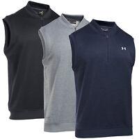 Under Armour Men's Golf Storm Sweater Fleece 1/4 Zip Vest UM1273 $79.99