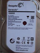 1,5TB Seagate ST1500DM003 | SN: W1E | PN: 9YN16G-500 | FW: CC4B | WU