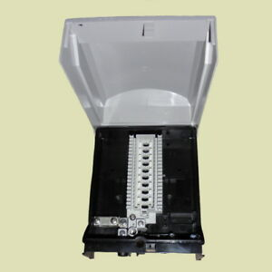 Schiederwerk Endverzweiger 10DA EVZ 10 85 LSA Leiste innen aussen IP54 Verteiler