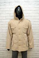 FU2 Giubbino Giacca Uomo Taglia M 2XL Jacket Cappotto Giubbotto Cotone Trench