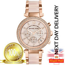 NEW GENUINE MICHAEL KORS MK5896 ROSE GOLD PARKER CHRONOGRAPH LADIES WATCH