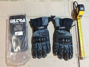 Ultra Waterproof winter textile motorcycle gloves. Size L. NOS.