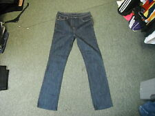 "Next Classic Straight Jeans Waist 29"" Leg 29.5"" Faded Dark Blue Ladies Jeans"