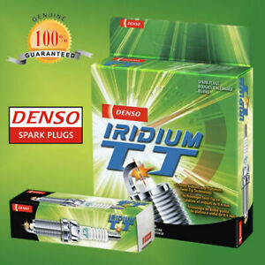 DENSO IRIDIUM TWIN TIP SPARK PLUGS FORD COURIER PC 2.6L G6 4 CYL. X 4