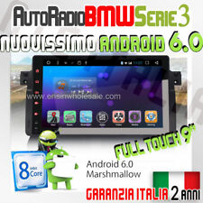 """AUTORADIO 9"""" ANDROID 6.0 *Full Touch* BMW SERIE 3 320 D i 330 318 325 E46 GPS -"""