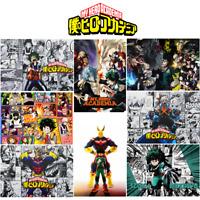 Anime Boku No Hero Academia Polypropylene 8 Pieces Posters Wall Poster A3-poster