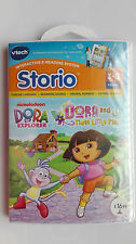 VTech Storio Software ~ Dora the explorer & the Three Little Pigs~factory sealed